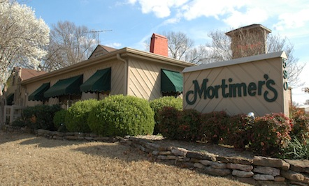 Mortimers Restaurant Outside