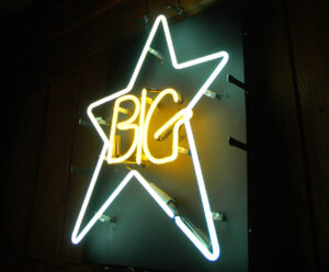 Big Star Neon Sign